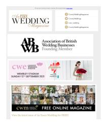 An Essex Wedding magazine - March 2021 newsletter