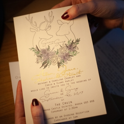 Katie Frances Art helps you get your dream wedding stationery
