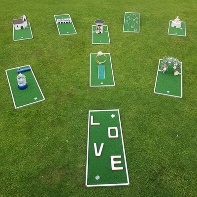 Essex-based PuttParty offers a quirky new wedding entertainment option