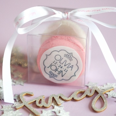 Macarons and wedding days - a match made in heaven!