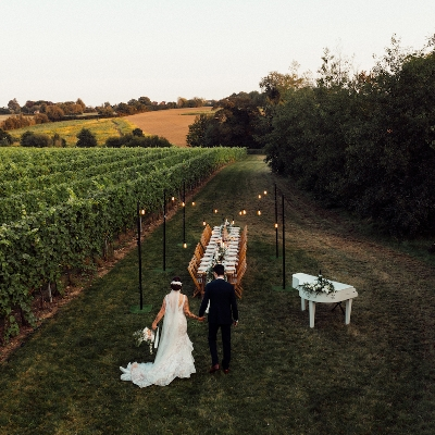 Local vineyard has opened its books for 2023 weddings already!