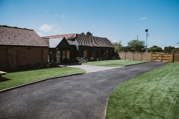 part barn part brick venues with drive